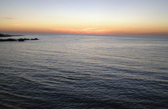 Țărmul Mediteranei la Latakia