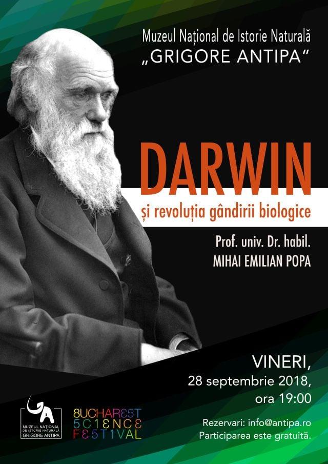 Darwin și revoluția gândirii biologice