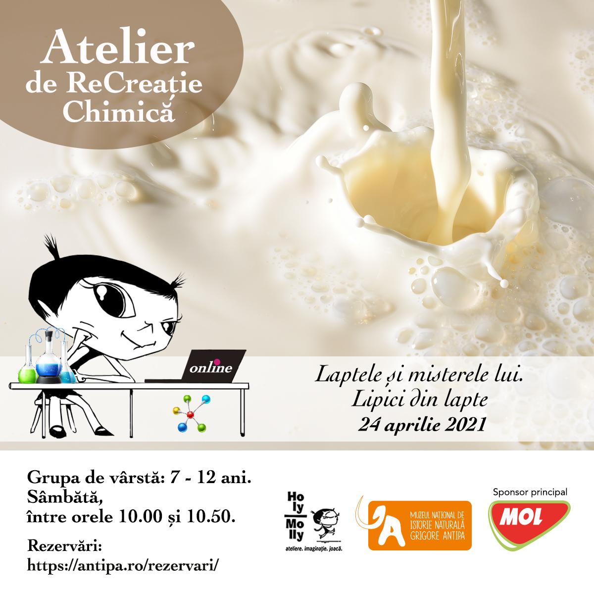 Atelier_ReCreatie Chimica_24_aprilie_Laptele_si_misterele_lui_Lipici_din_lapte